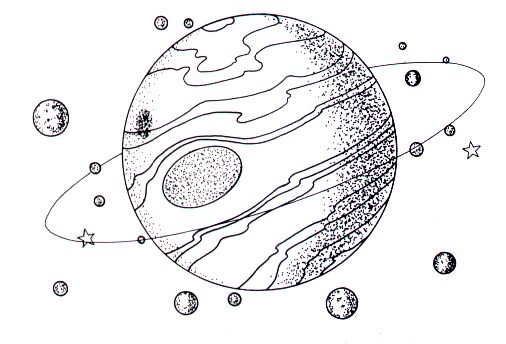 Planet clipart black and white. Free planets download clip