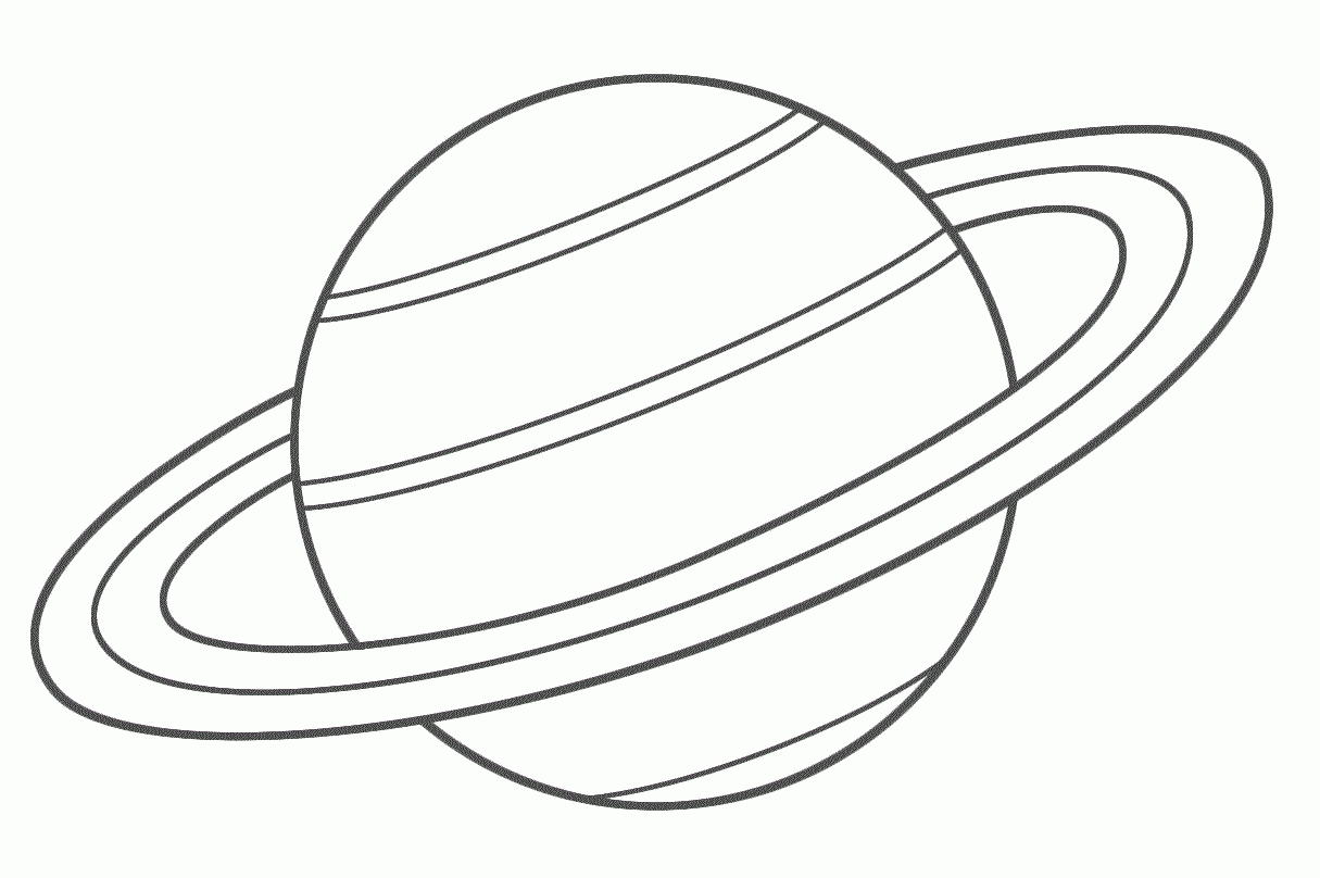 Planet clipart black and white. Free download best