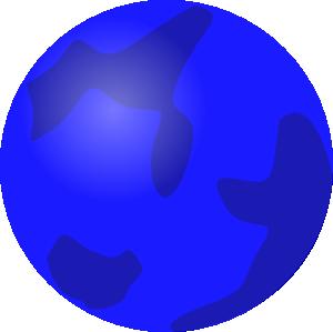 Clipartix . Planet clipart blue planet