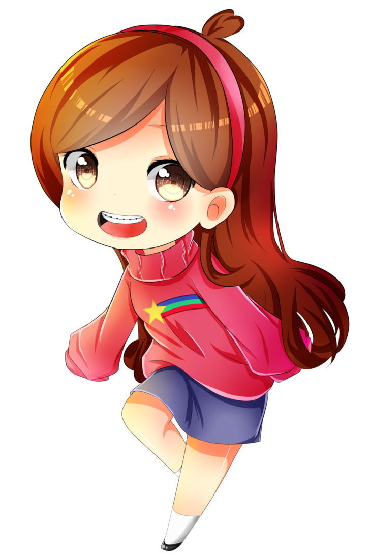 Mabel pines by syoa. Planets clipart chibi