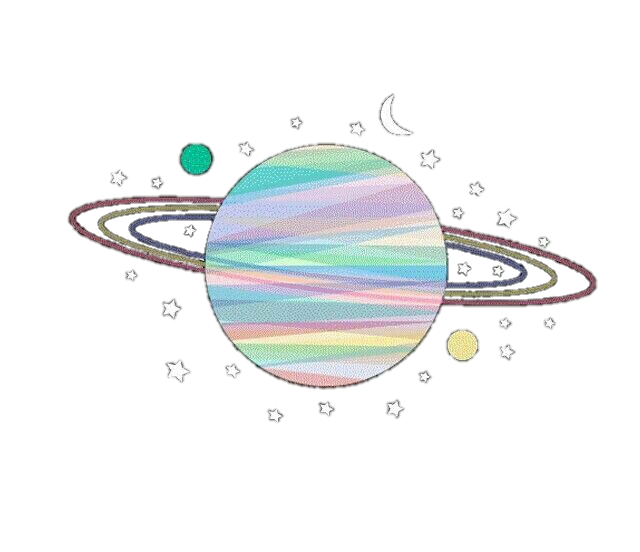 Planet clipart colorful. Stars universe tumblr aesthetic