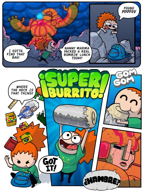 Planet clipart comic. Super burrito panic updates