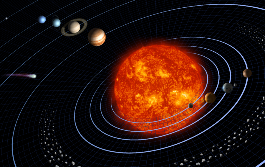Planet clipart diagram. Solar system background earth