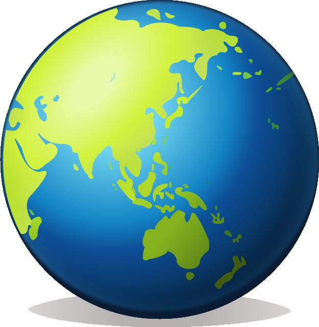 Download earth globe asia. Planet clipart emoji