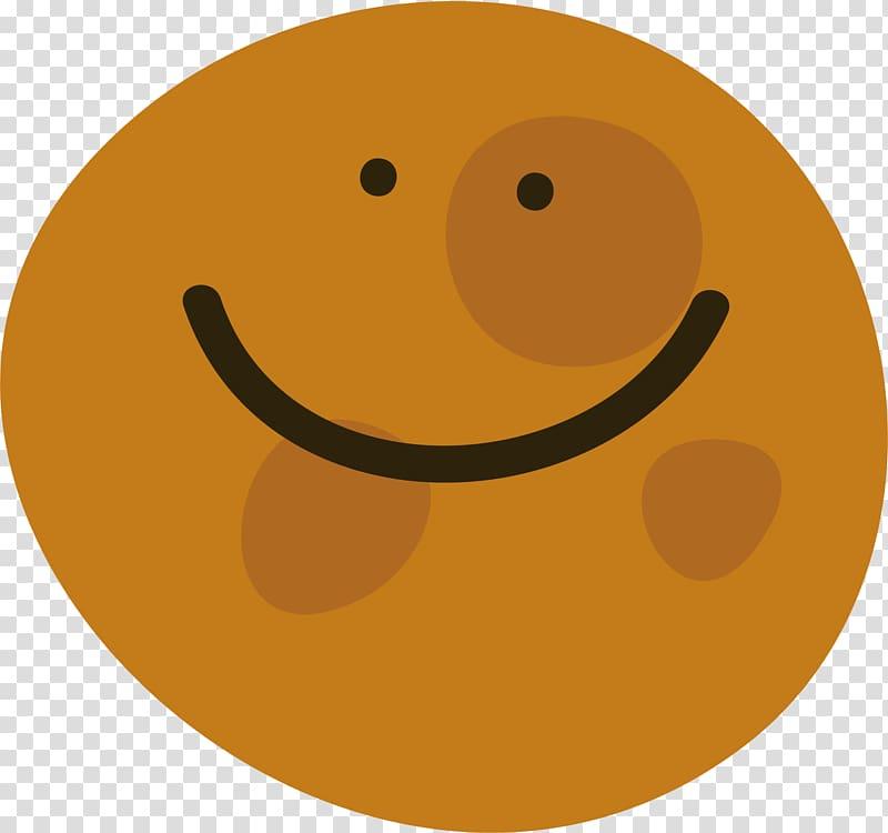 Planet clipart emoji. Smiley yellow circle cartoon