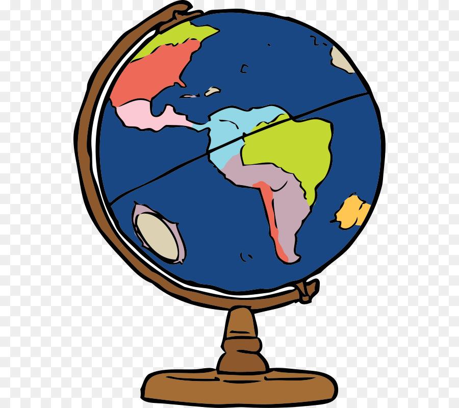 Planets clipart geography. Globe cartoon world transparent