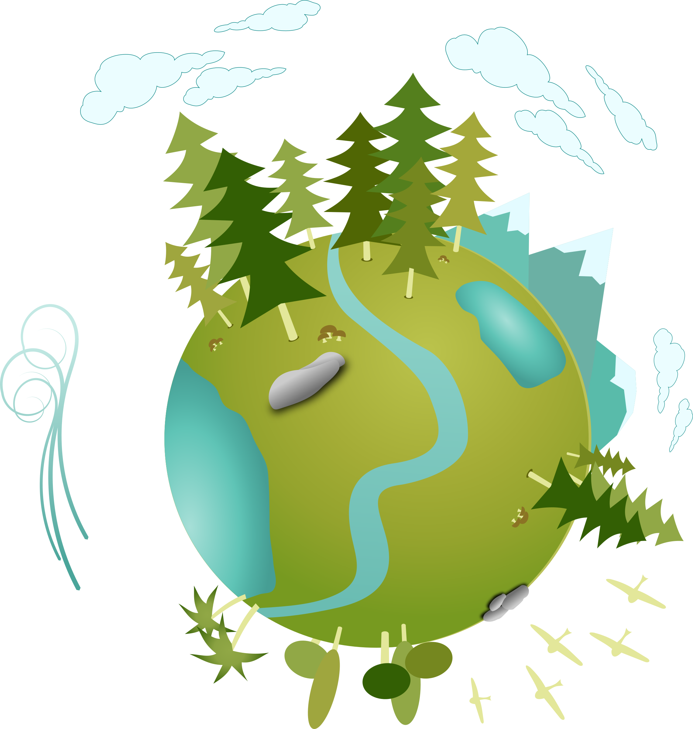 Big image png. Planet clipart green planet