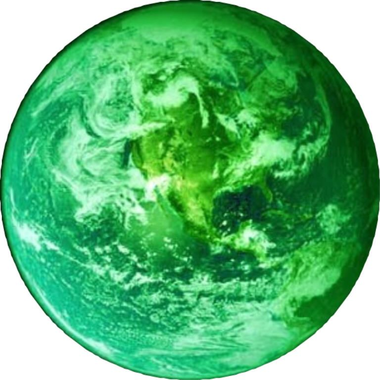 . Planeten clipart green planet