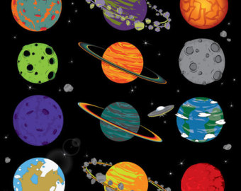 Planets clipart handmade. Space clipartfox wikiclipart