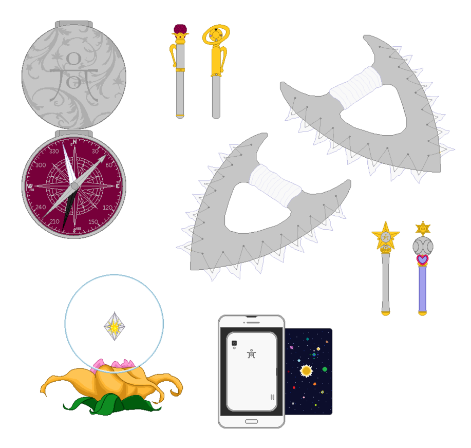 Sailor items by orangepinkrose. Planet clipart haumea