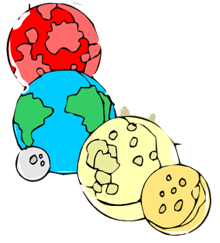 Planets clipart inner planet. The