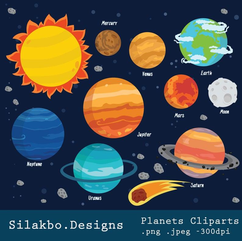 Planets . Planet clipart jpeg