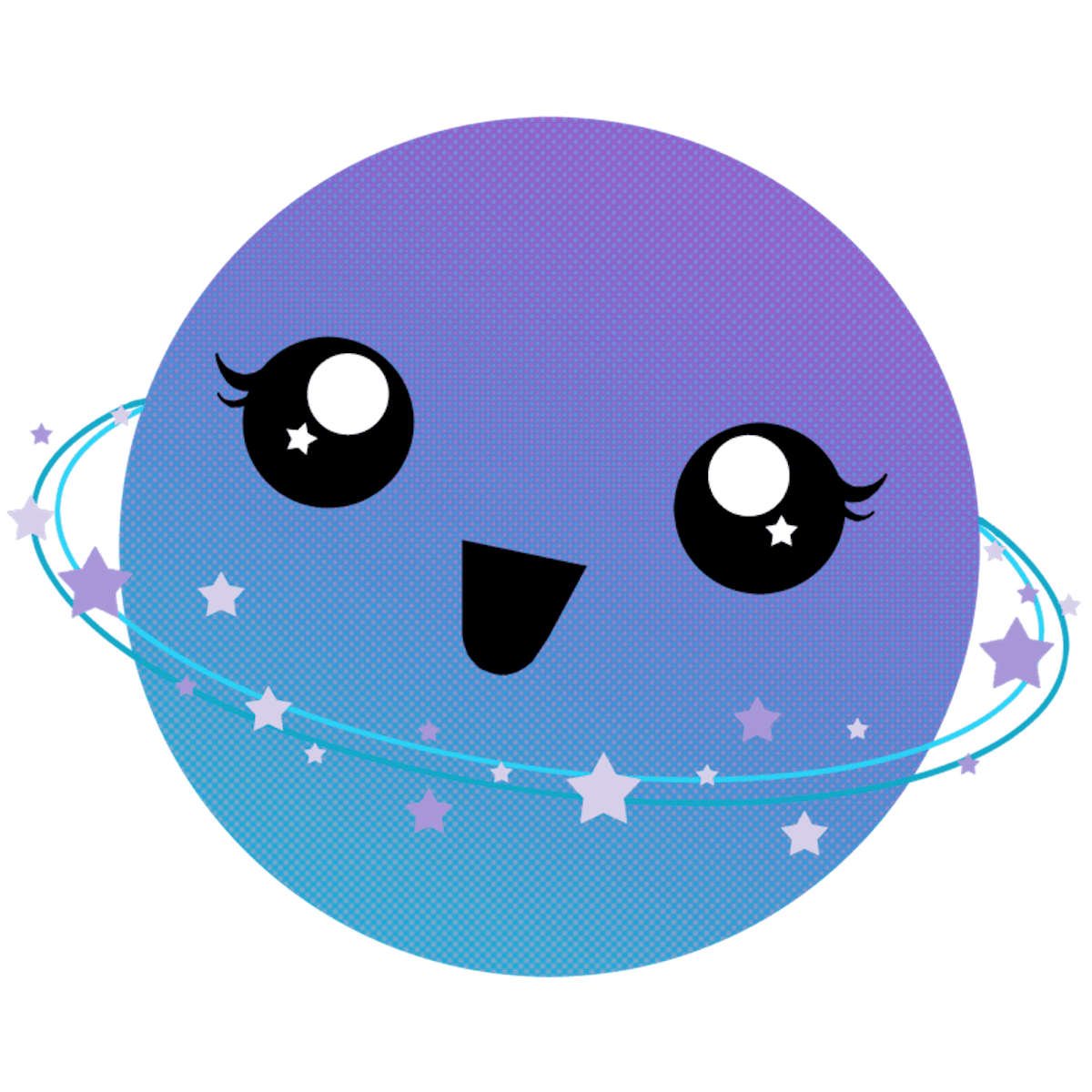Planets clipart kawaii. Planet cute kitschy and