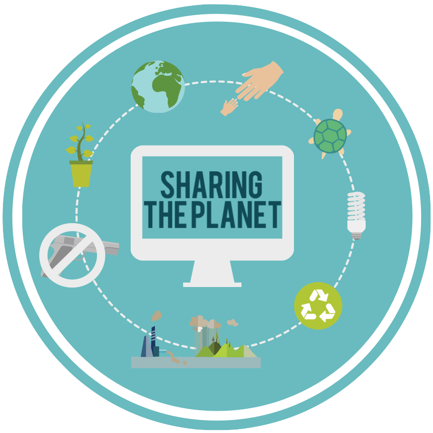 Sharing the new unit. Planet clipart label