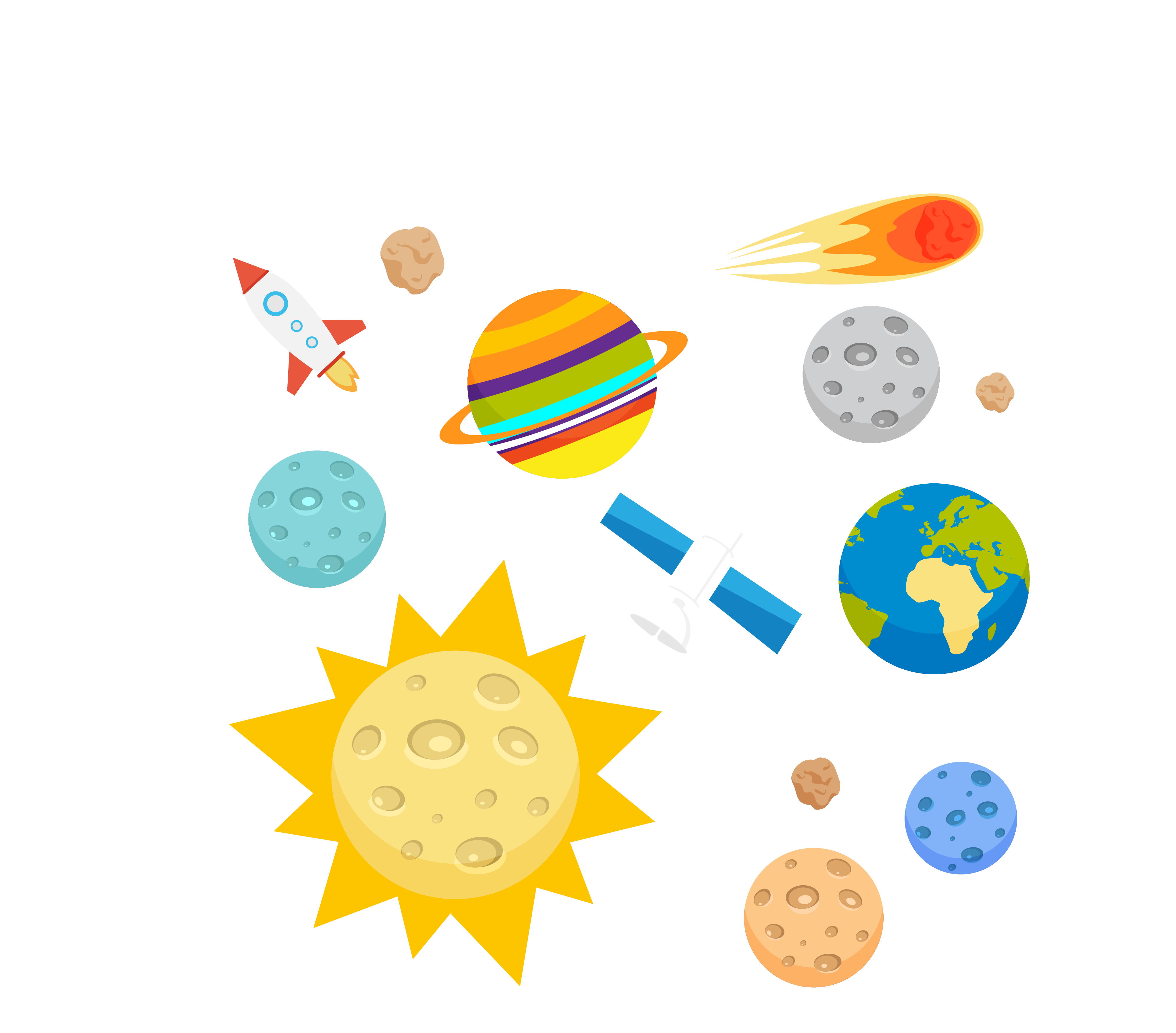 Planets transprent png free. Planet clipart outer space