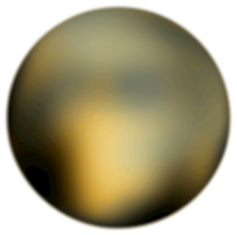 Planet clipart painting. Images of pluto dwarf