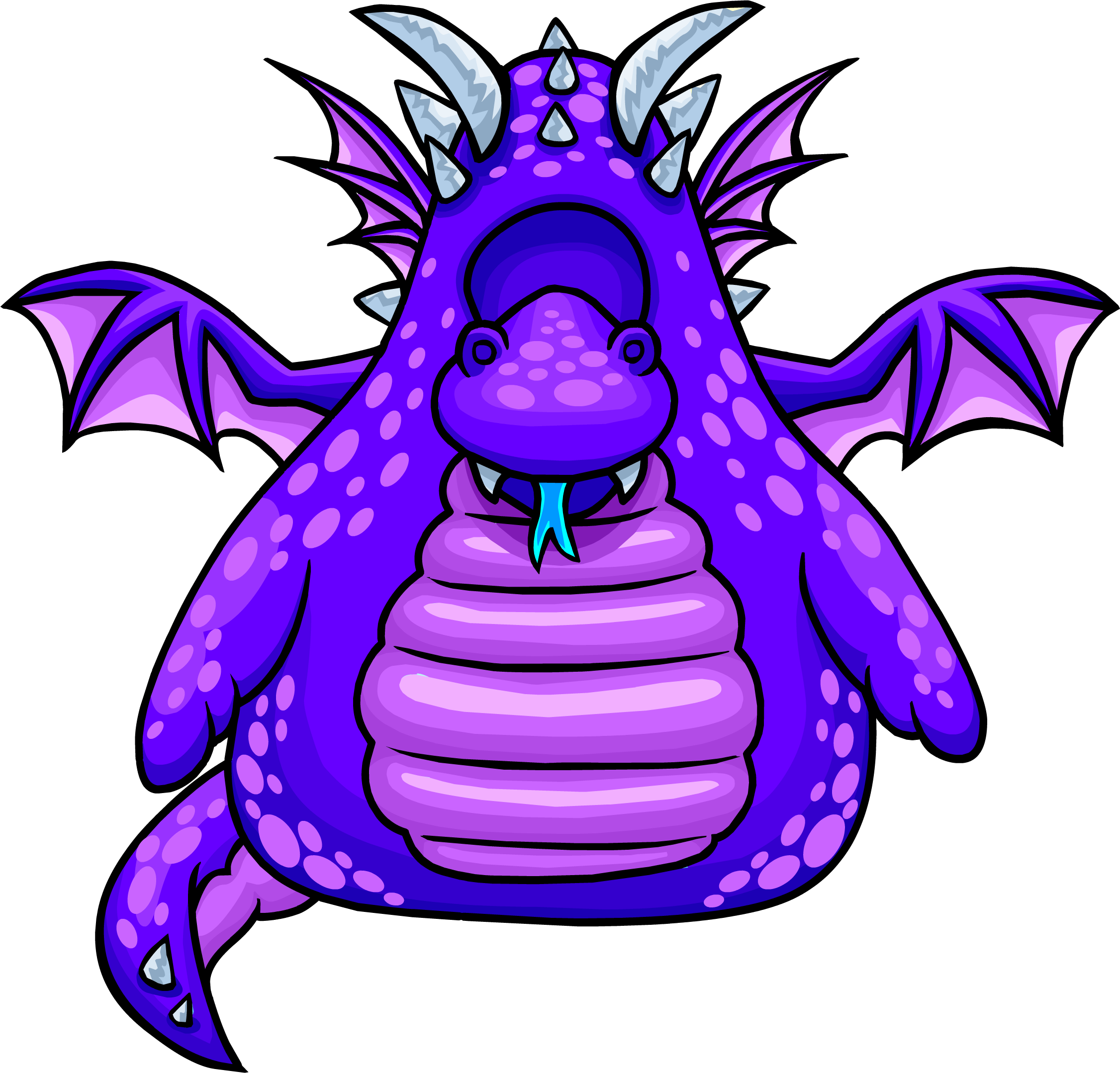 Planets clipart purple. Dragon costume club penguin