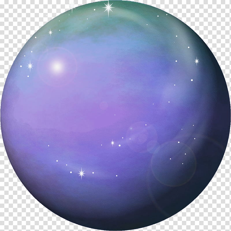 Planet venus round icon. Planets clipart purple