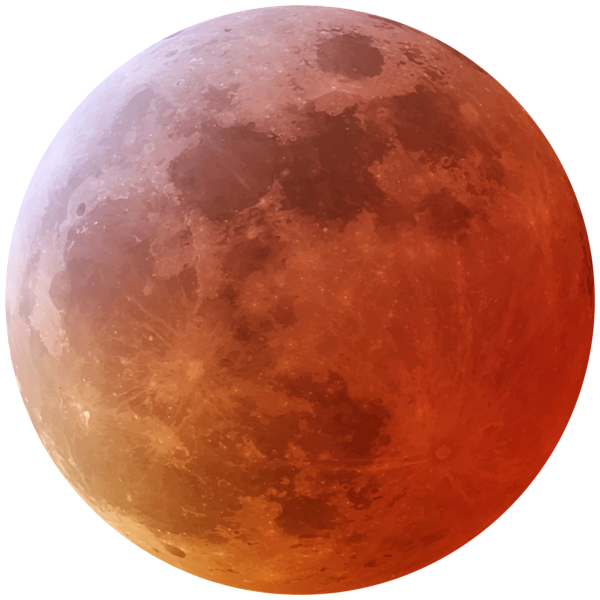 Pin by kim reed. Planets clipart red moon
