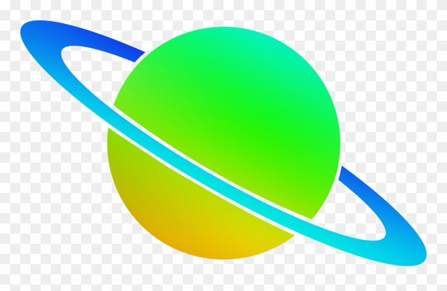 Svg clip art green. Planet clipart ring logo