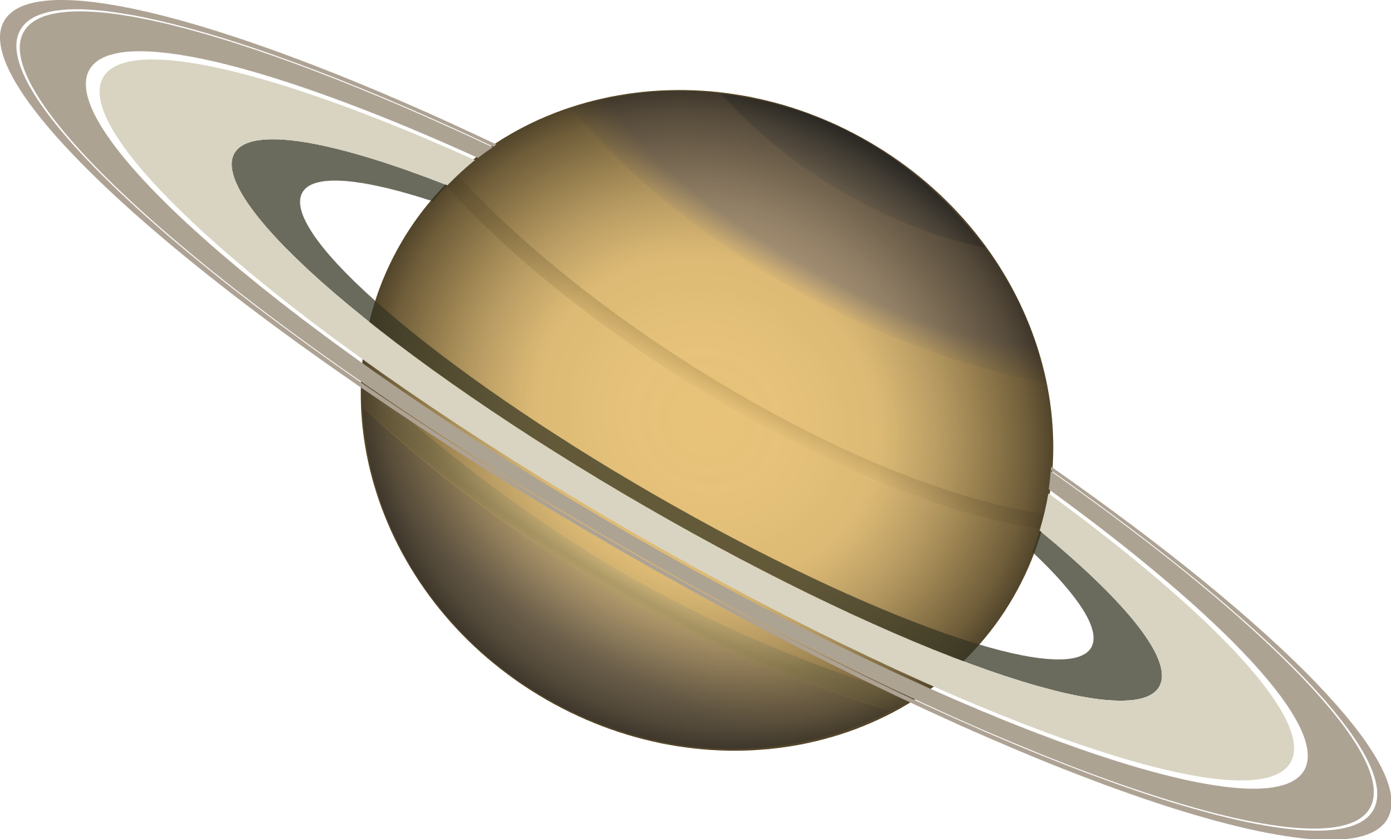File saturn dan gerhards. Planets clipart creative
