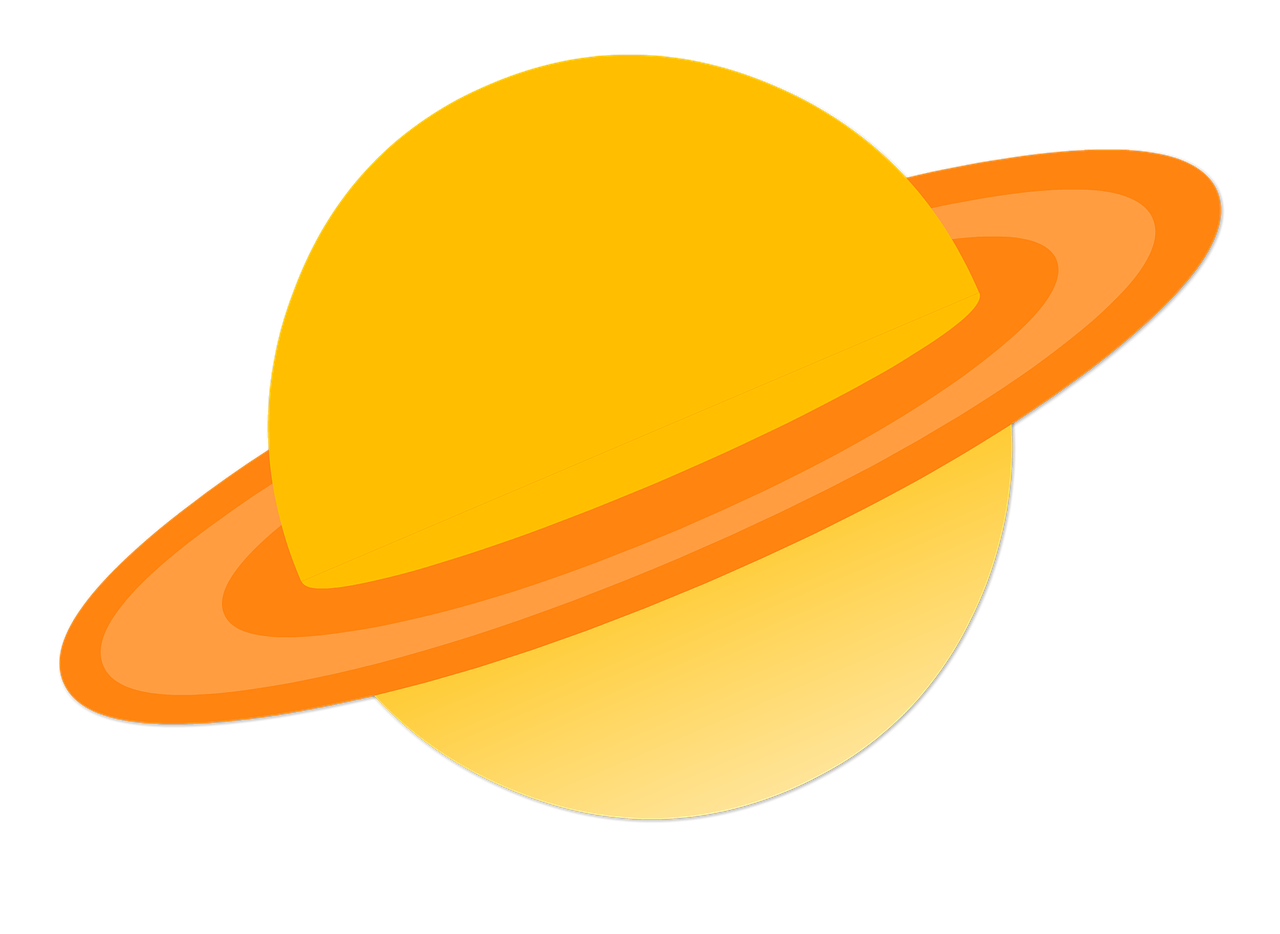 Space solar system png. Planet clipart saturn