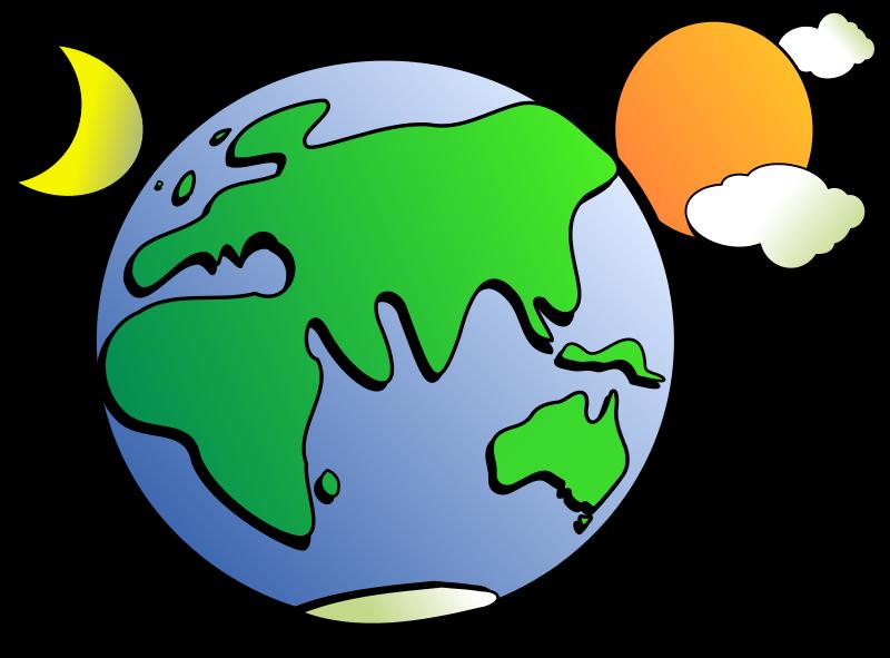 sick clipart earth