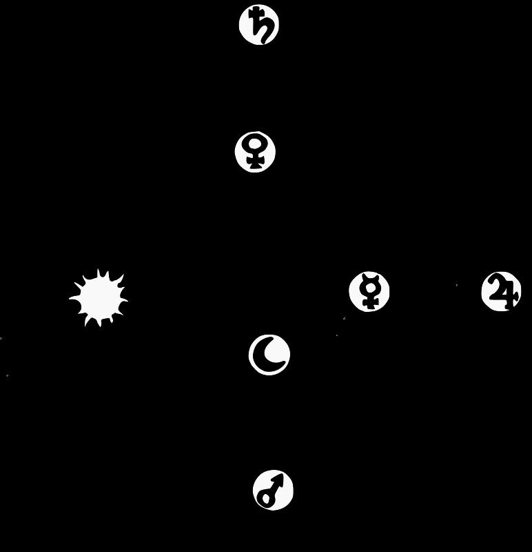 Planets clipart solar sytem. System geocentric medium image