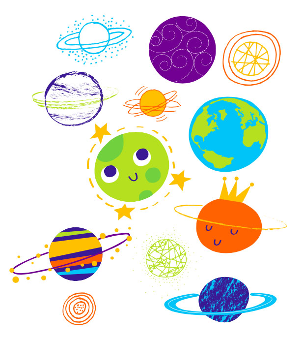 Planets clipart space thing. X free clip art