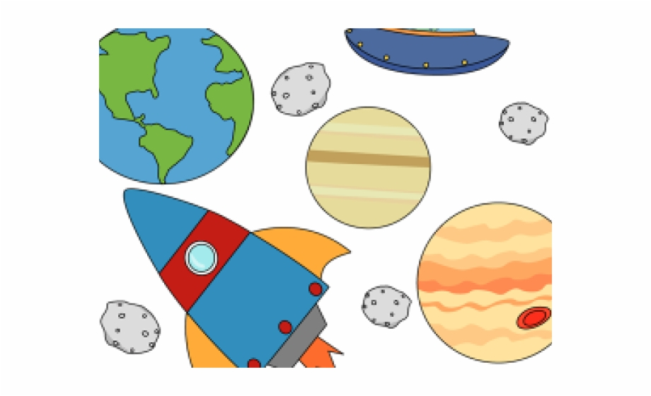 Planets clipart space thing. Kid png outer planet