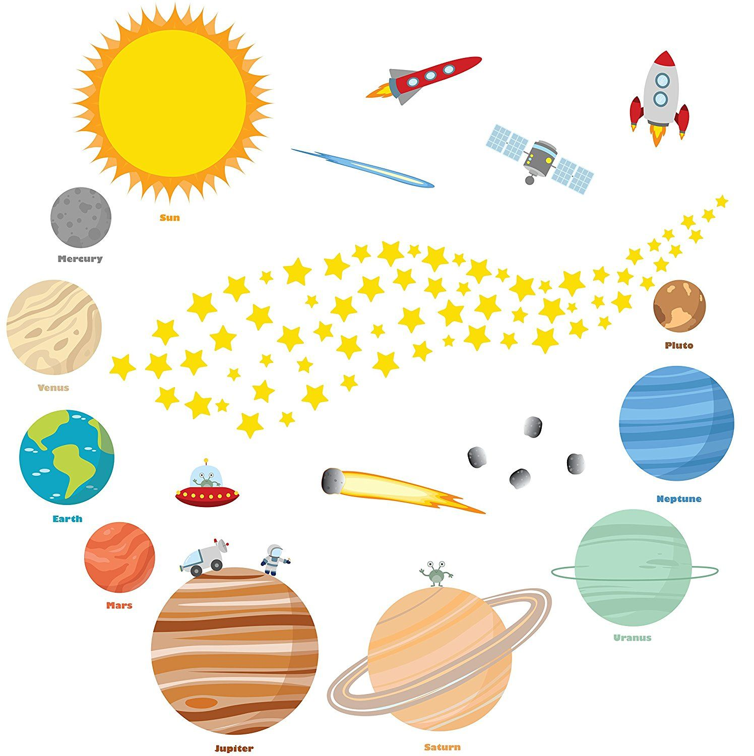 Galactic vbs supplies on. Planets clipart starveyors