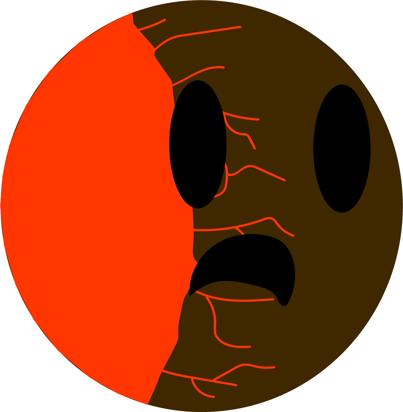 Lava simple cosmos wiki. Planets clipart terrestrial planet