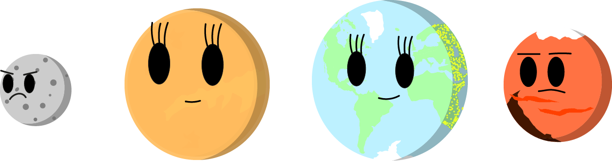 planet clipart terrestrial planet