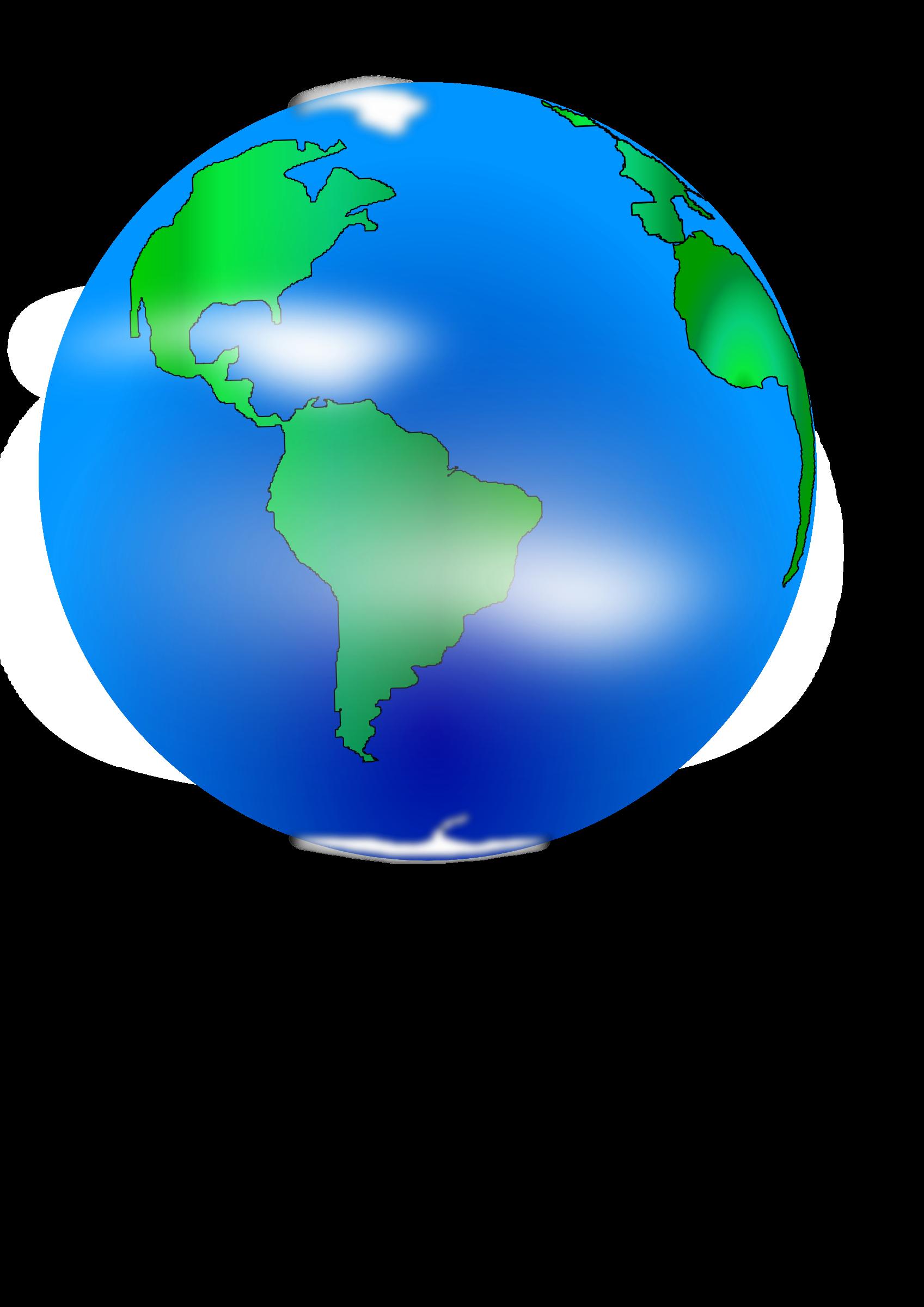 Planet clipart tierra. Planeta earth big image
