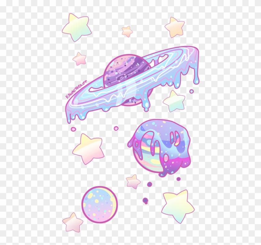 Planetas planet planeta cute. Planets clipart transparent tumblr