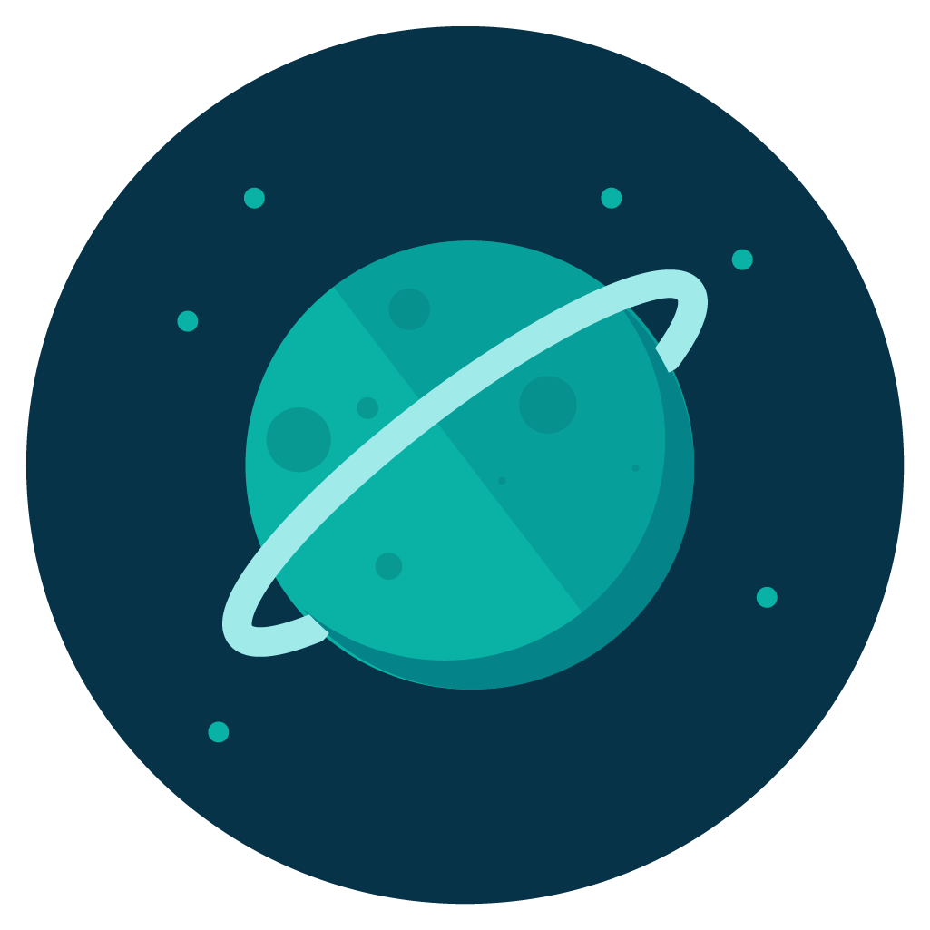 Planet clip art watercolor. Planeten clipart uranus