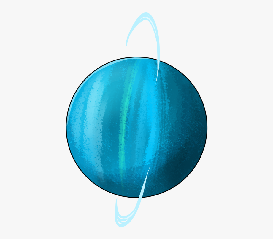 Planets clipart uranus. Indigo planet circle free