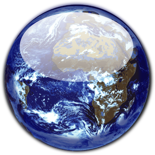 Earth clip art at. Planet clipart water