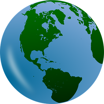 Earth planet world construction. Planeten clipart 3d globe