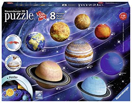 Planeten clipart 8 planet. Ravensburger d puzzle solar