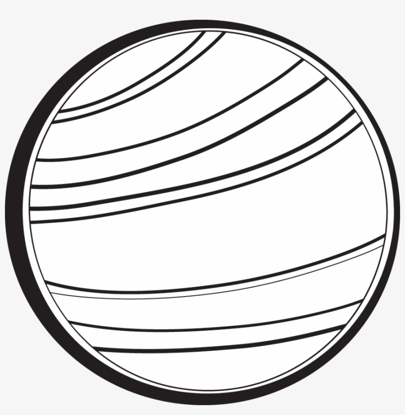 Venus planet drawing free. Planeten clipart black and white