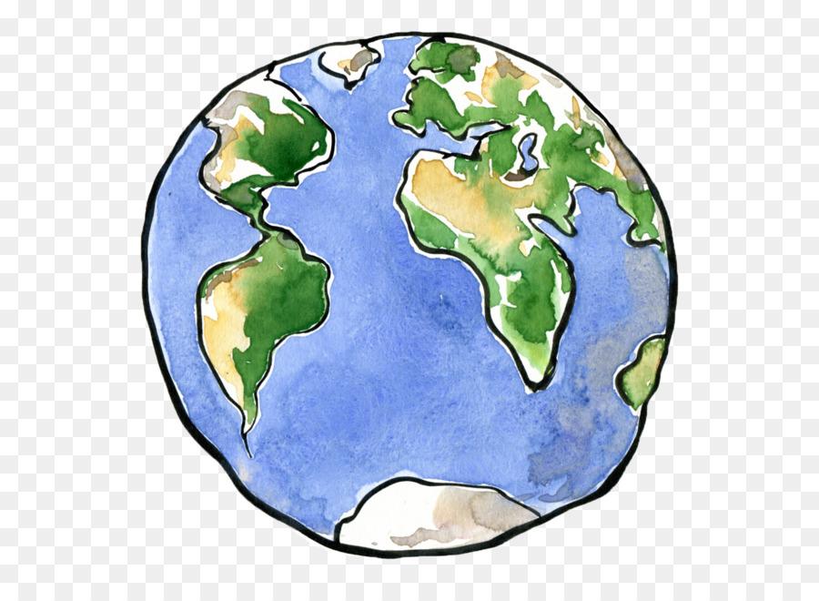 Planeten clipart comic. Erde zeichnung cartoon png