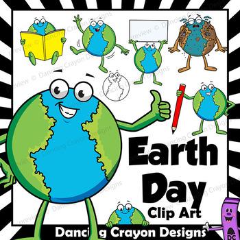 Earth day clip art. Planeten clipart comic