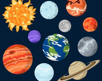 Creatures space circle png. Planeten clipart cool