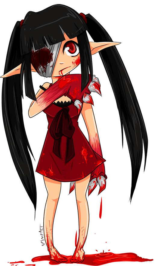 Anime girls . Planeten clipart cute