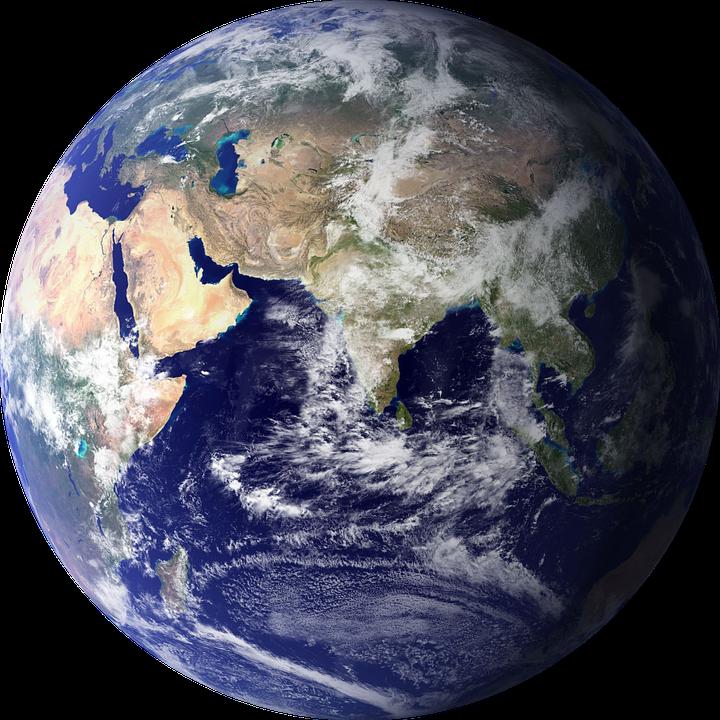 Planeten clipart earth half. Png erde transparent images