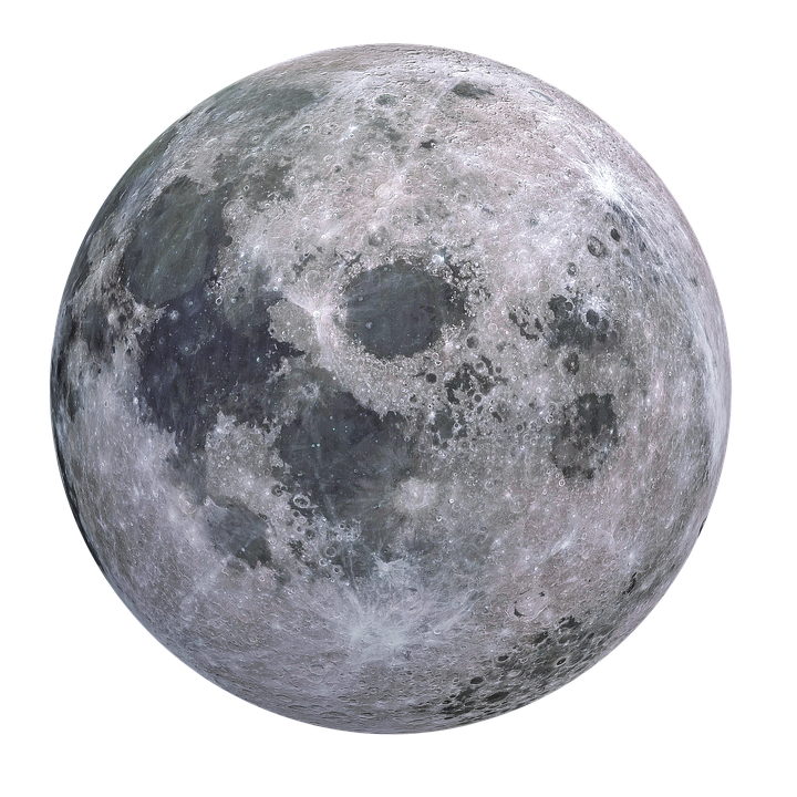 Planeten clipart full moon. Free image on pixabay