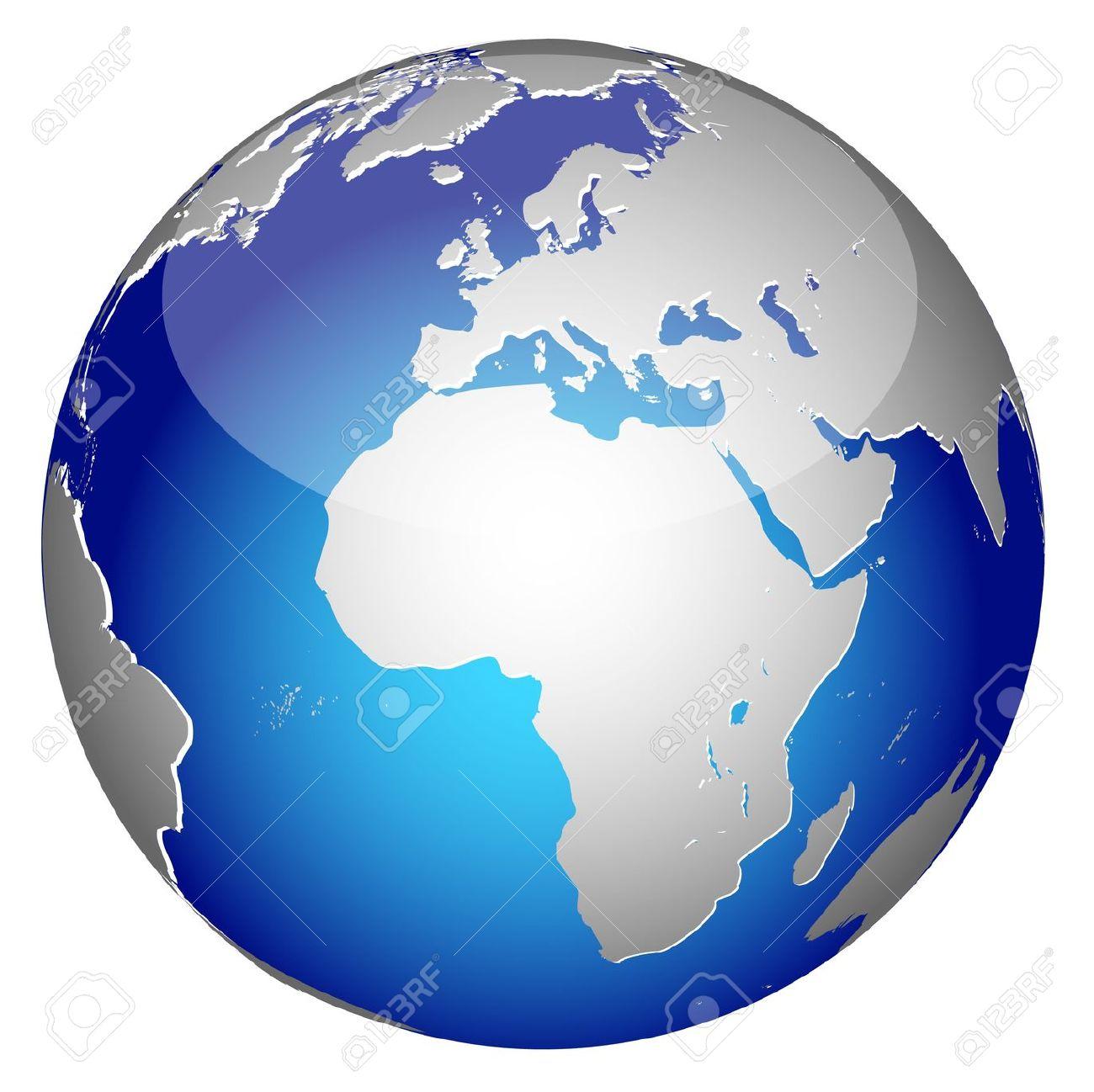 Global free download best. Planeten clipart half world