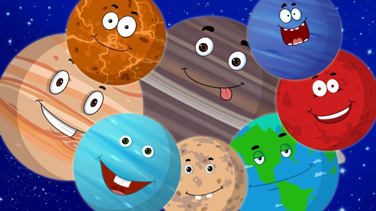 Planeten clipart kindergarten. Planet song preschool solar