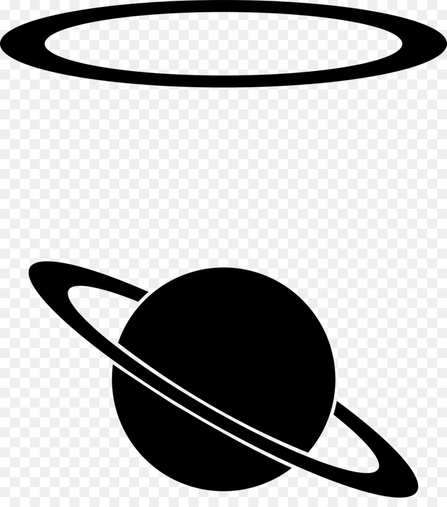 Planeten clipart line. Download planet ring system